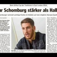 Nur Schomburg stärker als Haller